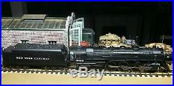 MTH G-SCALE NYC 4-6-4 HUDSON STEAM ENGINE WithPS 2, BOX
