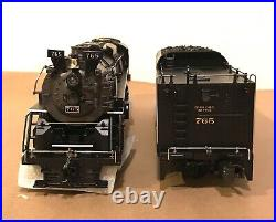 MTH O SCALE 20-3032-1 NPR 2-8-4 BERKSHIRE STEAM ENGINE & TENDER With PS