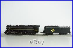 MTH O Scale Erie 2-8-4 Berkshire Steam Engine and Tender P2 20-3065-1 NEW