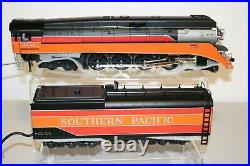 MTH O Scale Premier 2 RAIL SOUTHERN PACIFIC DAYLIGHT 4-8-4 Gs-4 LIKKE NEW