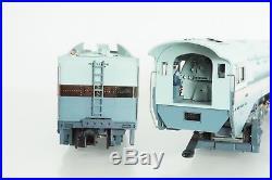 MTH O Scale Santa Fe SF 4-6-4 Blue Goose Hudson Steam Engine P2 20-3079-1 NEW