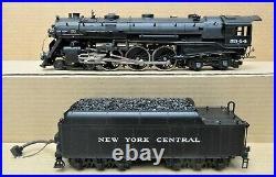 MTH Premier MT-3020S NYC J1e Hudson Steam Engine O-Scale 2-Rail withDCC Upgrades