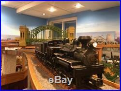 MTH Premier O Scale 3-Rail W V P & P 4-Tru Shay Logging Steam 20-3023-1