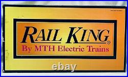 MTH Rail King O Scale 30-1140-1 Santa Fe Northern 4-8-4 Steam Engine & Tender