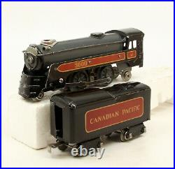 MX Vintage Marx Prewar O Scale 5895W Canadian Pacific 5 Car Passenger Set
