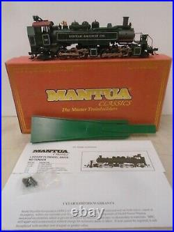 Mantua #351602 Ho Scale Uintah Railway Co 2-6-6-2t Articulated Logger Locomotiv