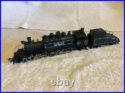 Mantua Ho scale Rayonier 2-6-6-2 articulated steam locomotive #111