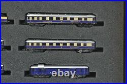 Marklin 81331 RHEINGOLD Passenger Train Set with Steam Locomotive Z Scale