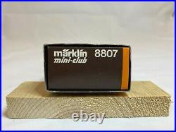 Marklin 8807 Z Scale Steam 2-8-2 Mikado Southern Locomotive with Tender