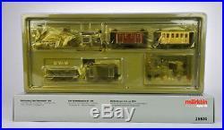 Marklin Ho Scale 26574 Digital Wurttemberger 1859 Steam Engine Train Set