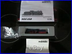Marklin spur z scale/gauge Grand ducal Steam Locomotive & Tender. New