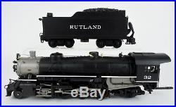 Mth O Scale 20-3076-1 Rutland 2-8-2 Usra Light Mikado Steam Engine & Tender #32