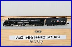 N Scale Con-Cor Rivarossi Union Pacific BIG BOY 4-8-8-4 Steam Loco & Tender 1501