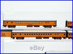 N Scale Fox Valley FVM Milwaukee Hiawatha 4-4-2 Steam Locomotive & Passenger SET