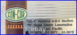 N Scale GS-4 Wartime 4-8-4 Northern Southern Pacific SP 4430 Steam Engine