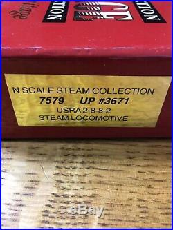 N Scale Heritage Steam Collection 7579 UP #3671 USRA 2-8-8-2 Steam Locomotive