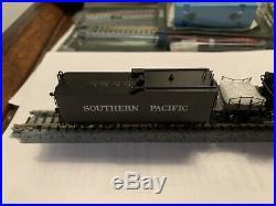 N Scale Key AC-10. Cab-Forward Factory Painted SP 4025 Steam Locomotive