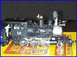 N Scale Micro-Trains Line MTL Nn3 2-6-0 C&S #10 Factory Painted Steam Locomotive