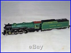 N Scale Rivarossi 9269 4-6-2 Heavy Pacific CRESCENT LIMITED 1401 Steam Loco