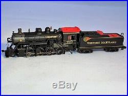 N Scale Spectrum 81156 2-8-0 Western Maryland Consolidation Steam Locomotive