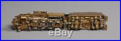 NJ International 210 HO Scale Brass CNJ K1 4-8-0 Camelback Steam Locomotive/Box