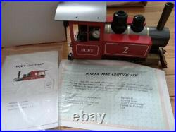 New Accucraft Large Scale Electric & Live Steam AC77-012 Ruby #2 Deluxe Train
