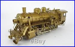 Nj Custom Ho Scale Brass Western Maryland I-1 2-10-0 Steam Engine & Tender U/p