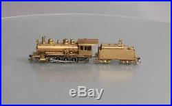 Northwest Short Line HO Scale 2-8-2 Baldwin 70 Ton Logging Mikado Brass Steam Lo