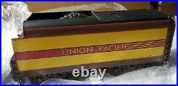 O scale brass import Union Pacific #2906 4-6-2 Streamlined F/P yellowithbrown NIB