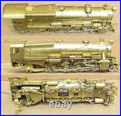 Omnicon Scale Models PRR/Pennsylvania L1s 2-8-2 Steam Engine BRASS S-Scale