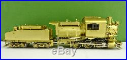 Overland Models Ho Scale 1500 Cnj B3a 0-6-0 Steam Engine & Tender Unpainted