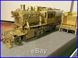Overland S-Scale Brass Reading I-8 2-8-0 Camelback Loco & Tender OMI-1703