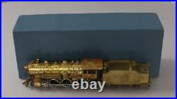 PFM BRASS HO Scale 4-6-0 S-4 Steam Locomotive & Tender/Box