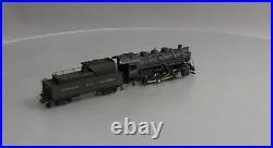PFM HO Scale BRASS N&W S-1a 0-8-0 Steam Locomotive & Tender Painted EX/Box