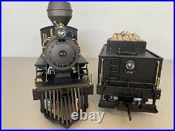 PIKO 38228 Denver & Rio Grande Steam Loco & Tender with Sound & Smoke G-Scale