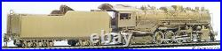 Pacific Fast Mail HO Scale Brass Locomotive Illinois Central 2-8-4 Class 7000