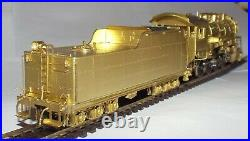 Pacific Fast Mail Ho Scale Western Maryland'800' 2-8-0 Brass Locomotive