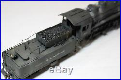 Painted DCC & Sound Brass HO Scale Boston & Albany B&A 0-8-0 Steam Locomotive