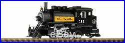 Piko 38207 G Scale Denver & Rio Grande Western 2-6-0T Locomotive #31