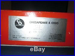 Precision Scale Company 16620-1 HO BRASS C&O K-4 2-8-4 Steam Loco #2759 EX WOB