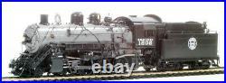 Precision Scale DM&IR HO 2-8-0 Locomotive