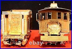 Precision Scale PSC HOn3 Brass D&RGW C-19 Unpainted Natural Brass, Exquisite