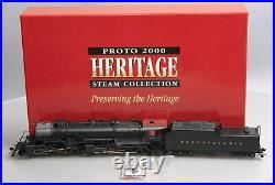 Proto 2000 23341 HO Scale Pennsylvania 2-8-8-2 Steam Locomotive with Tender #376