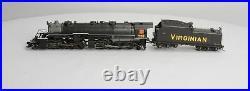 Proto 2000 23345 HO Scale Virginian 2-8-8-2 Steam Locomotive And Tender No. 739