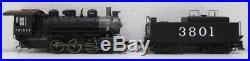 Proto 2000 30238 HO Scale Frisco 0-6-0 Steam Locomotive #3801 LN/Box