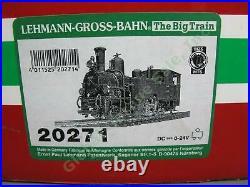 RARE LGB G Scale 20271 Swiss Rhotische Bahn Heidi RhB G 3/4 #11 Steam Locomotive