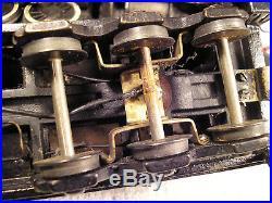 RARE Vintage Lobaugh LMT Brass O scale 2-8-4 (C&NW) Steam Loco TLC