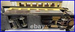 Rare 1 Gauge G Scale 45mm Live Steam Railcar Railbus Locomotion Carriage Tram