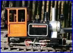 Rare Steamlines Garden Railway Live Steam Locomotive 45mm 16mm Scale Project