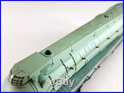 Rivarossi 5196-B Santa Fe 4-6-4 Hudson Blue Goose Steam Locomotive 3460 HO Scale